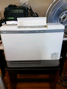 Rinnai Propane or gas heaters Great for garage or shed