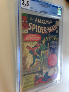 1st Electro in Amazing Spider-man #9 comic CGC 3.5 $450, OBO