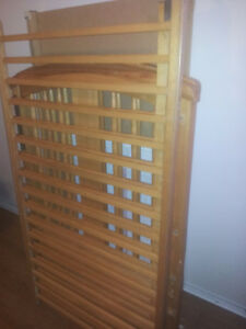 Wooden Storcraft crib