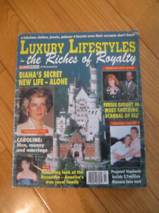"OLD '92 EDITION ""LUXURY LIFESTYLES"" ROYAL COLLECTIBLE MAGAZINE"