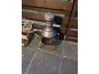 Used Chimenea burner
