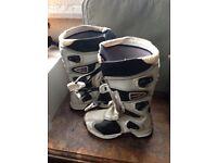 Childs fox motocross boots