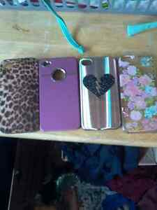 Iphone 4 cases, 2 iphone 4 chargers with it