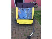 Child's bike trailer
