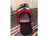Fabric cat, dog carrier small