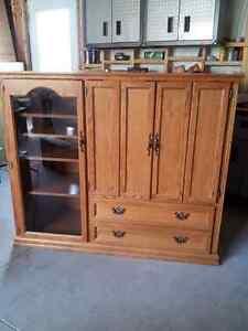 Price Drop -Solid Wood Entertainment Unit