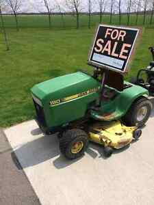 "John Deere 180  lawnmower 46"" deck"