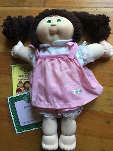 Cabbage doll new condition. Out of box with birth cirtificate