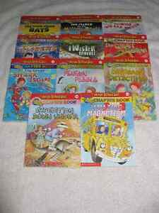 MAGIC SCHOOLBUS - CHAPTERBOOKS - NICE SELECTION - CHECK IT OUT!