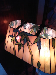 Kitchler tiffany Lamp plancher vitraile leaded glass floor lamp