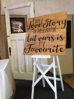 Rustic Wedding Decor Rentals