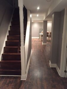 2 Bedroom basement for rent - One car parking-Utilities included