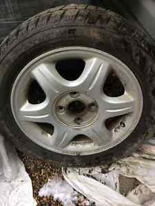 """16 """" Rims and Winter Tires"""
