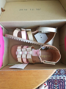 Brand new girl sandals size 10