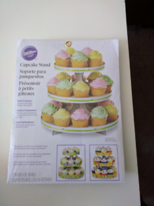 Cupcake Or Baking Goods Display Tiered Stand NEW IN PACKAGING