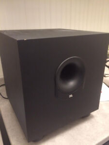 JBL 8in Enclosed Bass Reflex Subwoofer Home Stereo
