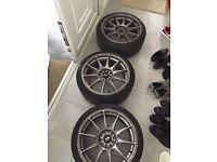 XXR 527s 5x114.3 5x100 Honda Civic ep3 type R