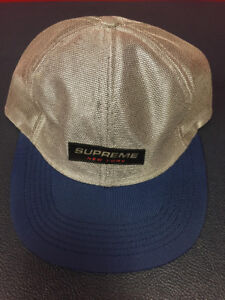 SUPREME Brand New with tags 6 panel and camp cap