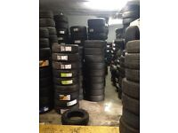 New and part worn tyres from £8