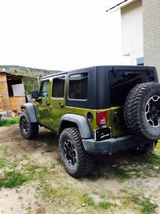 Jeep Wrangler 4 door 2007 JK- X Unlimited