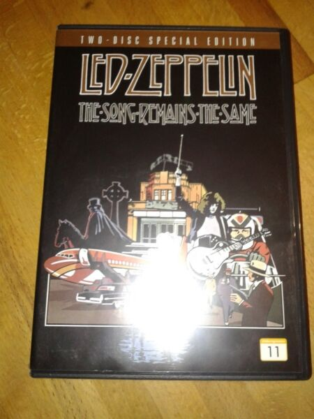 Led Zeppelin: The Song Remains the Same, (Two Disc Special Edition),dvd