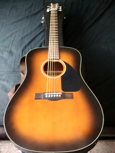 Fender acoustic cd60 - LIKE NEW