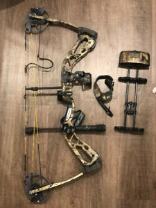 Diamond SB-1 Edge Bow with release and arrows 700 OBO