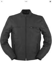 "Furygan leather motorcycle jacket ""Dany"""