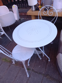 Garden table and 2 Chairs £85. CLOSING DOWN SALE. Furniture Superstore