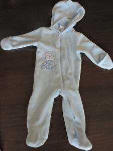 d91f76fff2fe Fleece Bunting Suit