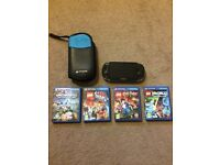 Ps Vita + 4 games 35£ remote ,1 year old,great condition,highly recomended