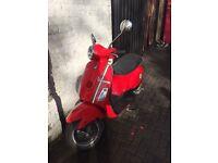Piaggio Vespa LX50cc 2-Stroke ET2 zip primavera h