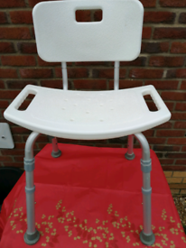 Disability shower chair.