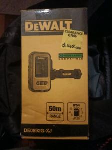 DeWalt laser detector