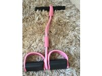 Pineapple Pink Rowing Action Exerciser