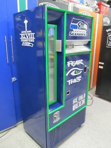 Seattle Seahawks Vending Machine