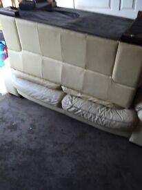 Large sofa 3 seater and 2 seater