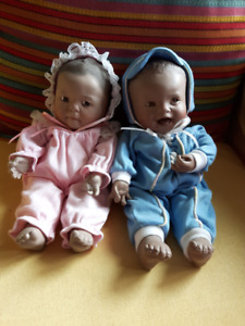 Rainbow of Love porcelain dolls