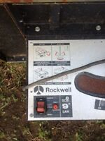 Two table saws for sale