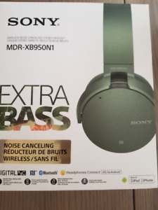 SONY MDRXB950N1 WIRELESS NOISE CANCELLING EXTRA BASS