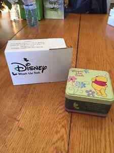 Pooh and Butterfly Friends Watch in Tin