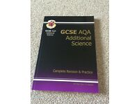 GCSE AQA Additional Science Revision Guide RRP £10.99
