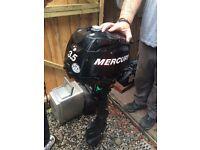 Mercury 3.5 four stroke short shaft boat outboard