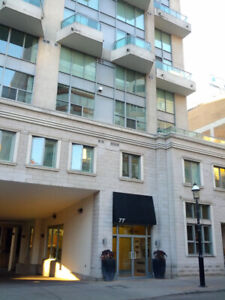 2-Story Downtown Loft – 1+1 Bed/2 Bath - hydro + water included