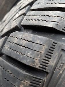 4 winter tires Gislave nordfrost 215/60r16 + Volkswagen rims
