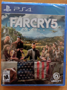 Far Cry 5 - New, Sealed - PS4