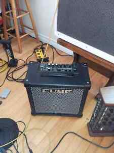Roland 40w guitar amp less than a year old