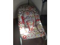 Gender neutral baby rocker/chair
