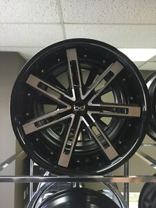 20x10 OR 20x10.5 BD7 RIMS ONLY $899 SET OF 4