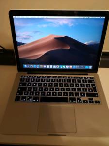 Macbook pro 13po retina 2015